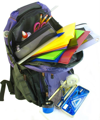 1 Backpack Donation- The Patchwork Foundation 2020