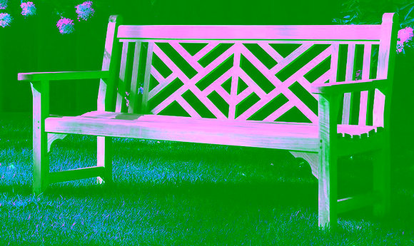 Wellness Garden Bench