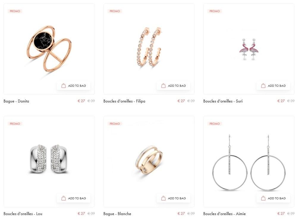Soldes bijoux Victoria
