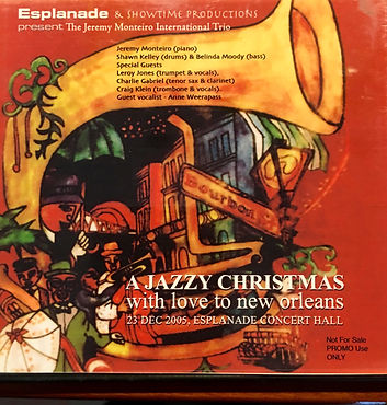 2005 dvd live 'A jazzy christmas with lo