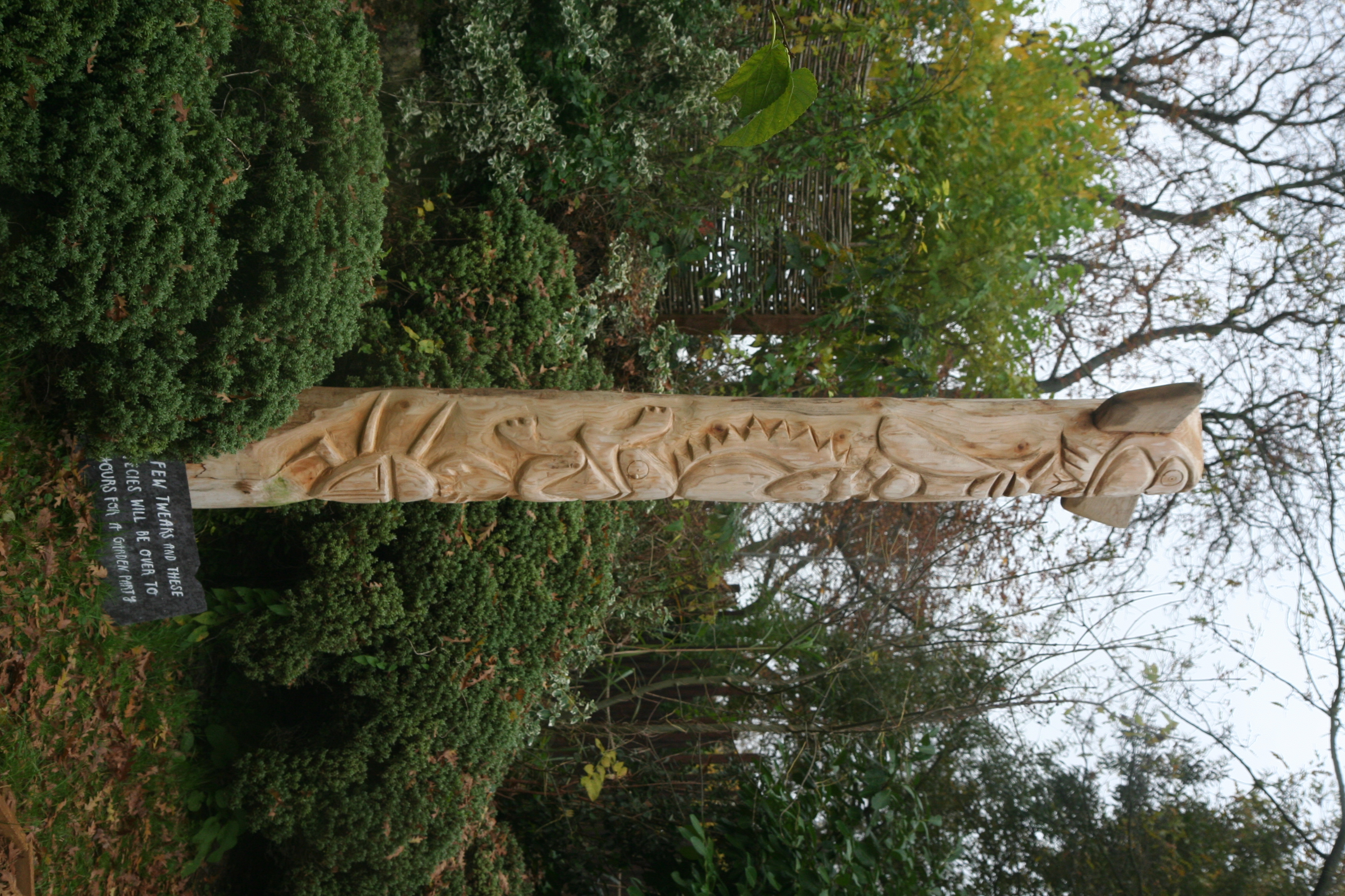 London Zoo - Totem pole