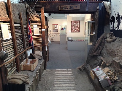 WW1 Trench Reconstruction - Kingston Museum