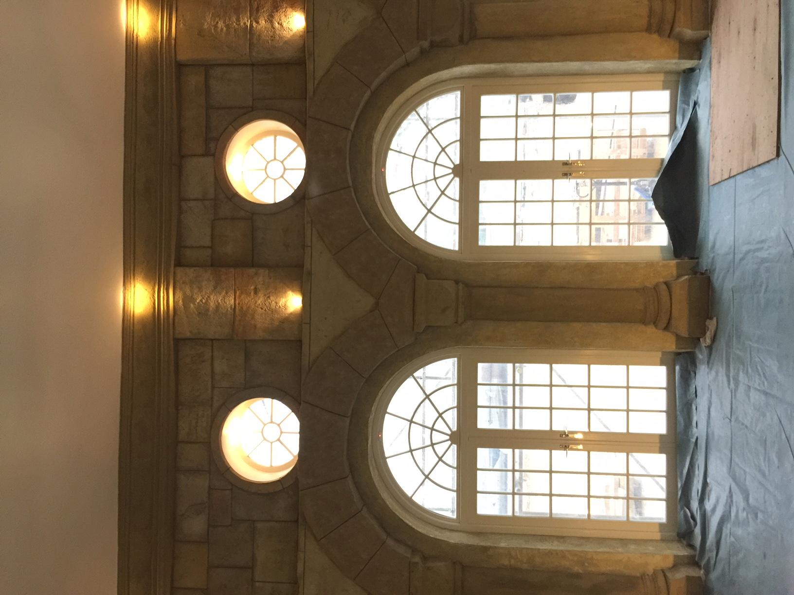 Romanesque Interior