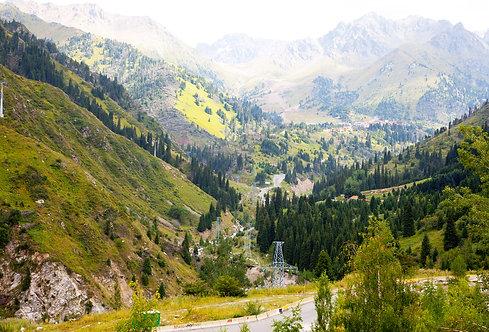 Проход в горы