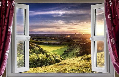Потрясающий вид из окна