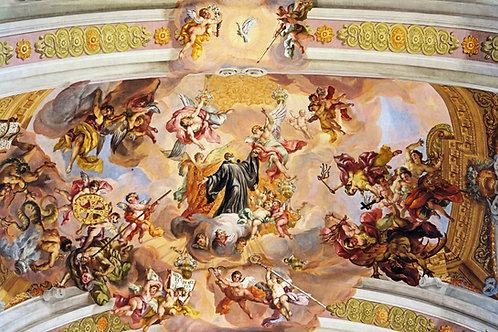 Триумфальное восхождение святого Бенедикта на небеса
