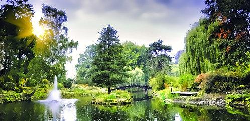 Мост в японском саду