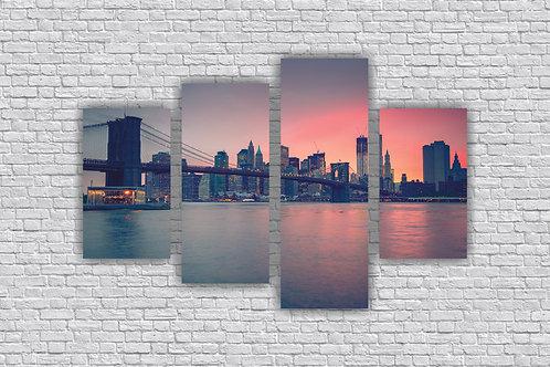 Вечерний Бруклинский мост