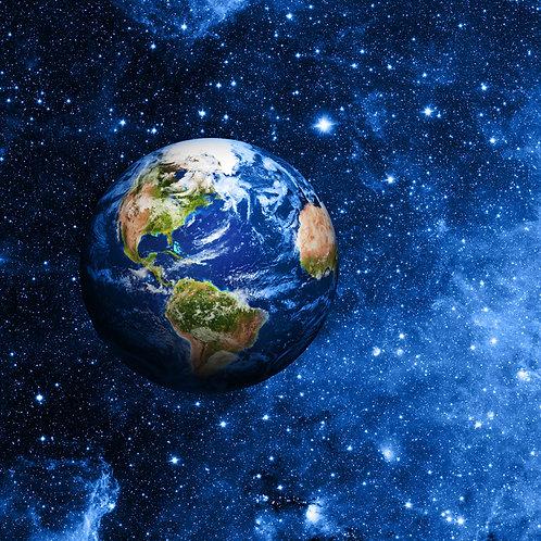 Планета Земля космическое пространство