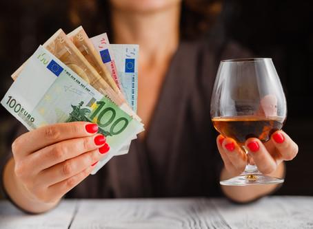 Wat mijn alcoholverslaving (mij) kostte