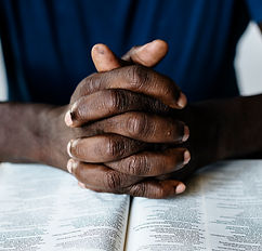 african-american-male-hands-resting-open