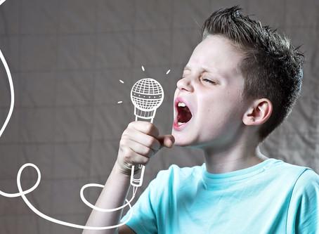 Niet zingen!