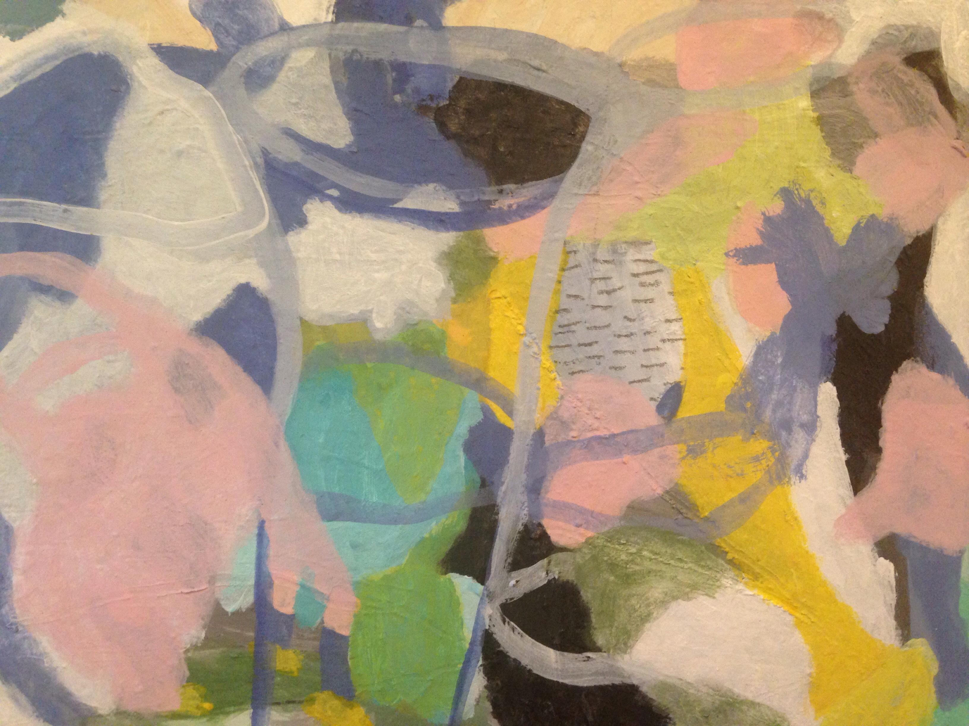 Erika Schwinte : Peinture, volume