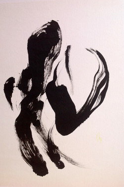 Christel Basset  - Encres Shodo