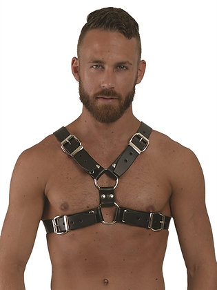 MrB Leather Y-Chest Harness