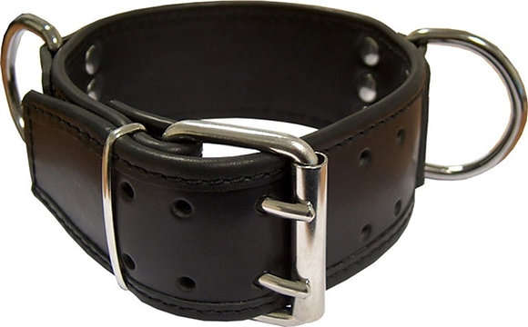 MrB Leather Slave Collar
