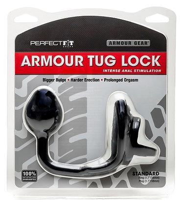 Tug Lock Plug & Cockring