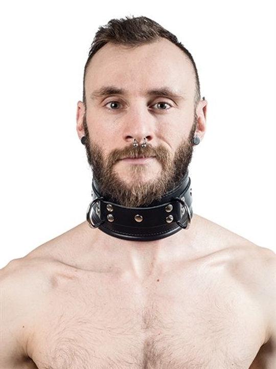 MrB Padded Leather Slave Collar | barcru