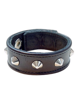 MrB Leather Studded Cockstrap
