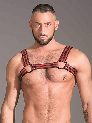 Red Neoprene Chest Harness