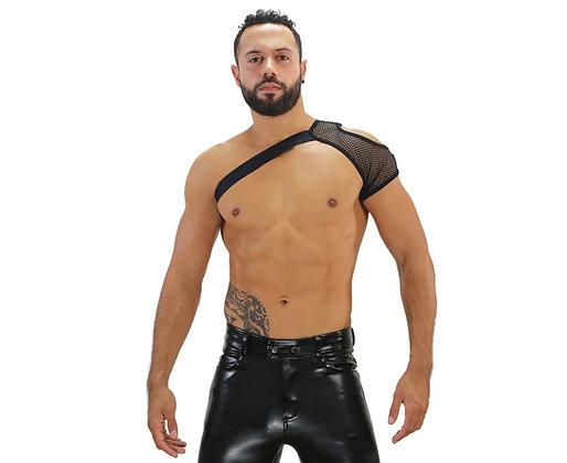 Black Mesh Shoulder Harness ToF at Bar Cru Store