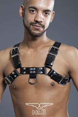 MrB Leather Chest Harness