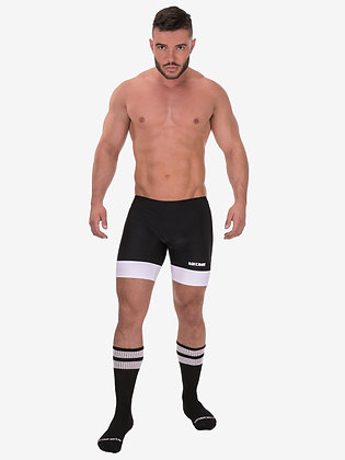 Barcode Gym-Swim Shorts