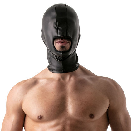 Leather Open Mouth Hood ToF at Bar Cru Store