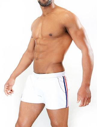 White Party Shorts TOF at Bar Cru Store