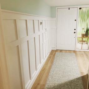 Custom Board and Batten Entryway