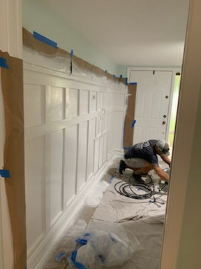Painting Board and Batten
