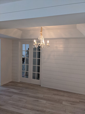 Shiplap and French Doors