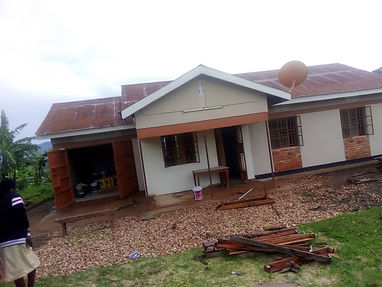 Headteachers house renovation completed.