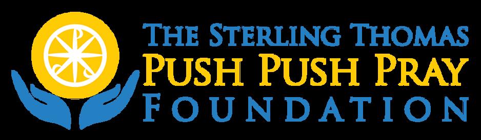 Sterlin Thomas Push Push Pray Logo