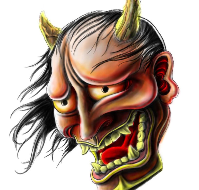 Hannya Mask Red_1.jpg