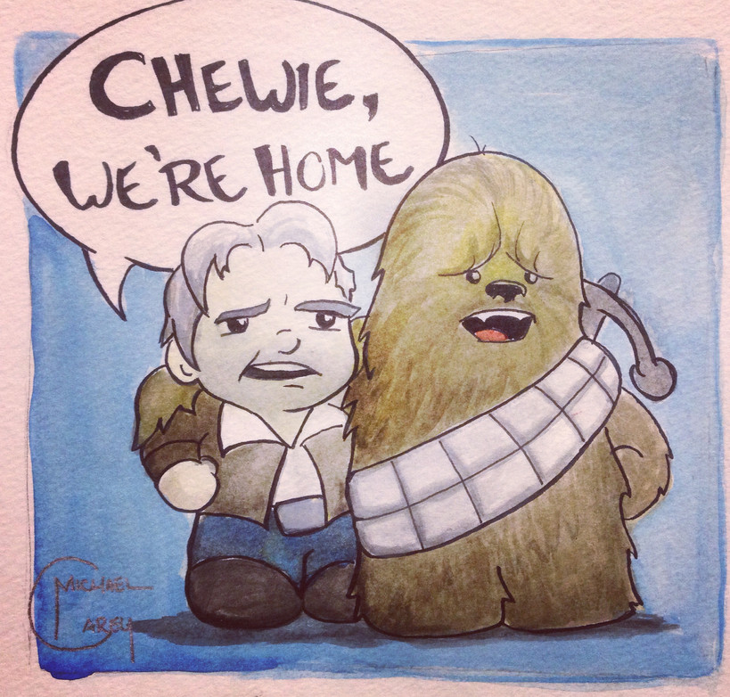 Han Solo and Chewy Watercolo.jpg