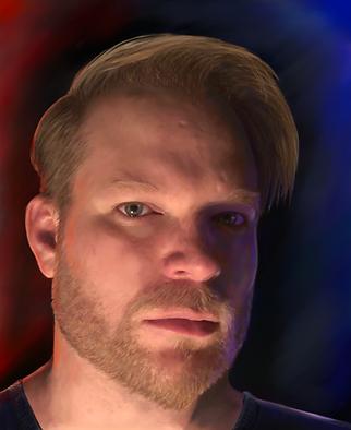 Michael Carey Self Portrait