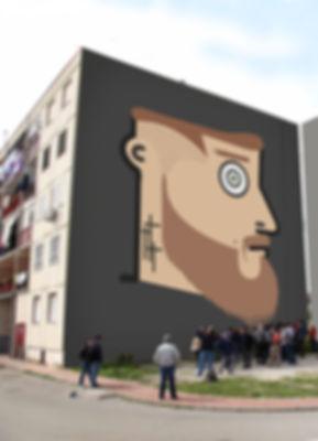 sangue blu, arturo muselli, graffiti, gomorra, street art