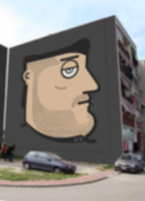 genny savastano, graffiti, gomorra, street art