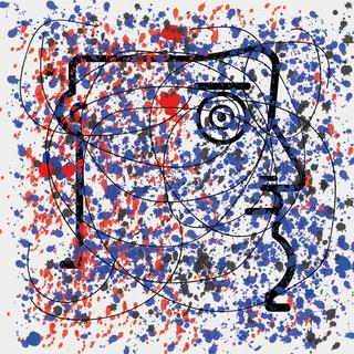 """Autore: IABO Titolo: """"Dripping"""" (J. Pollock) Tecnica: Acrilico e spray paint su tela Dimensione: 70x70x15 cm. Edizione di 5 pezzi Anno: 2018  Author: IABO Title: """"Dripping"""" (J. Pollock) Technique: Acrylic and spray paint on canvas Dimension: 70x70x15 cm. Edition of 5 pieces Year: 2018"""