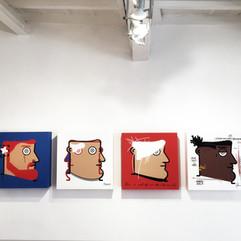 """""""I want to be an Artist"""" una mostra di IABO a cura di Tiziana Cino - Rosso27 Arte Contemporanea Roma   11 maggio - 28 giugno 2019"""