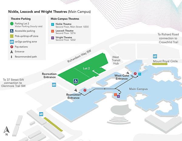 Wright Theatre MRU Main Campus