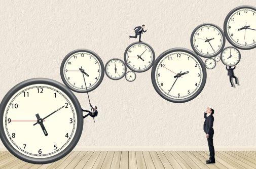 horloge, montres, passé, présent, futur