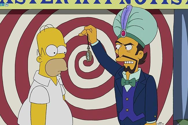 hypnose rapide et Simpson