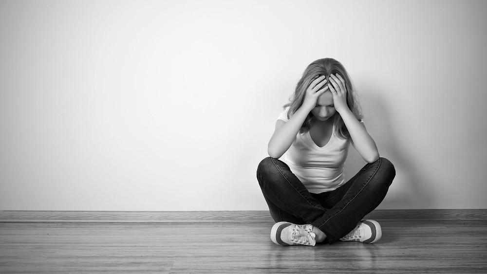 dépression, hypnose, tristesse