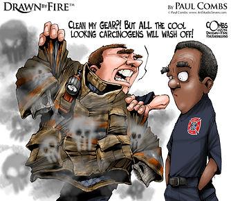 Paul Combs Firefighter