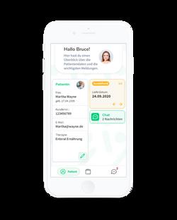 Alberta Patienten-App - Startseite