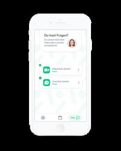 Alberta Patienten-App - Videochat