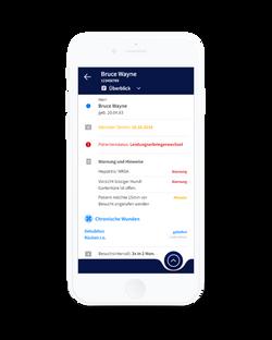Alberta App - Patientenakte