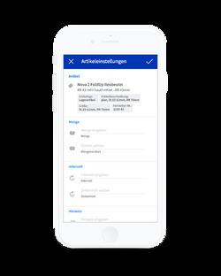 Alberta App - Bestellung